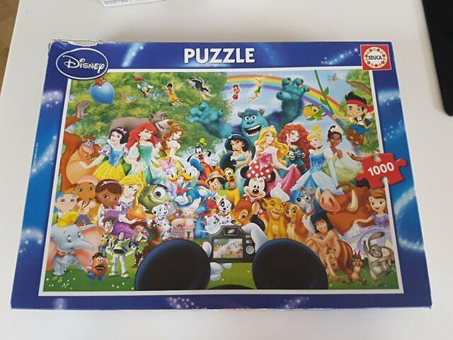 Educa el maravilloso mundo de Disney II Puzzle - 1000 piezas
