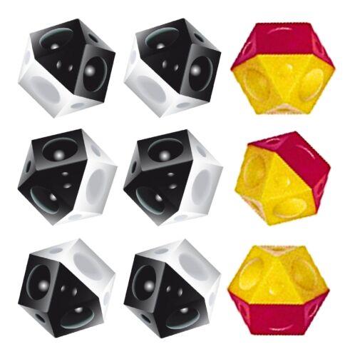TIPP-KICK Bälle 9 x Ersatz Fussbälle Ball neun Ersatzbälle Tip Kick 6+3