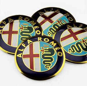 alfa romeo x4 56mm emblem rad nabenkappe aufkleber. Black Bedroom Furniture Sets. Home Design Ideas