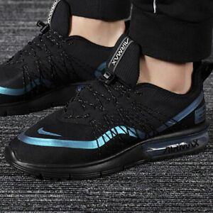 Details about Nike Men's Air Max Sequent 4 Utility Black Blue AV3236 005 Running Shoes NEW