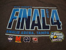 NCAA Women's Final Four College Basketball Sports Game Fan 2015 Gray T Shirt M