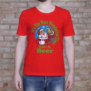 It-039-s-The-Most-Wonderful-Time-For-A-Beer-Shirt-Christmas-Shirt-Funny-Gift-Tee