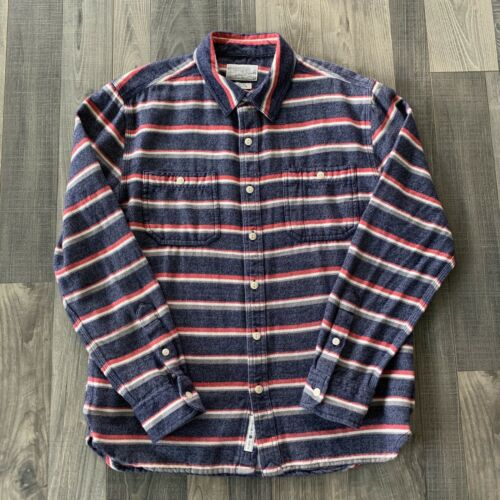 Lucky Brand Baja Button Up Collared Shirt Men's Me