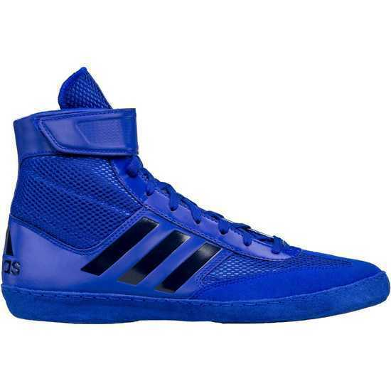 Adidas Combat Speed 5 Scarpe da Wrestling Lotta Scarpe da Boxe Blu Nero