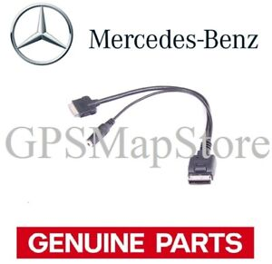 2010 MERCEDES BENZ E IPOD IPHONE AUX AUXILIARY AUDIO CONNECTOR WIRE A0018276904