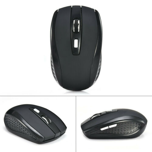 2.4GHz Wireless Cordless Mouse Mice Optical Scroll Set For PC Laptop Computer