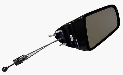 BRAND NEW #1 HIGH QUALITY MANUAL REMOTE MIRROR~LEFT DRIVER SIDE~Beretta//Corsica