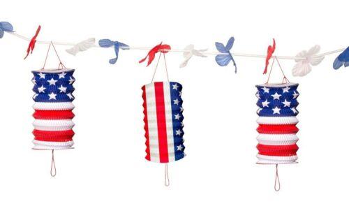 U.S.A Geburtstag Party USA Fest Feier Amerika Teller Becher Servietten Deko