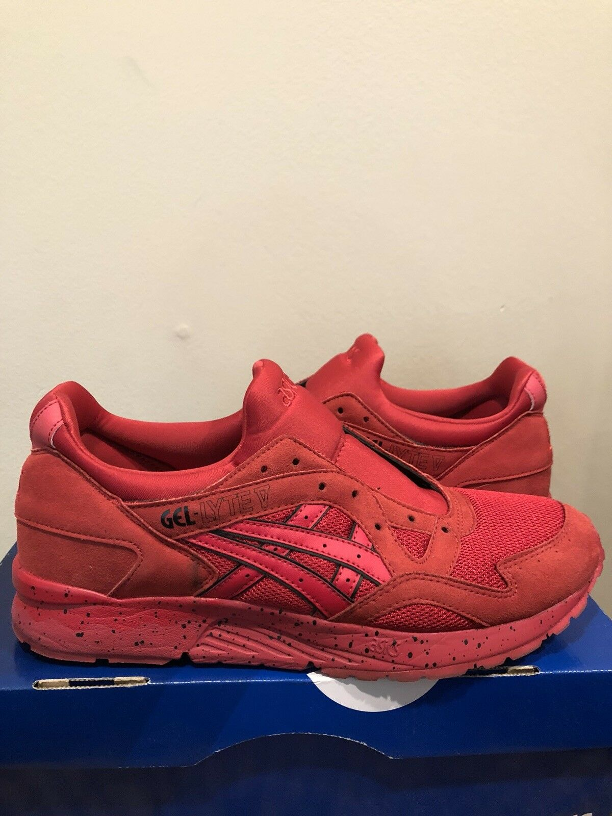 Asics Gel Lyte 5 Red Size 10.5