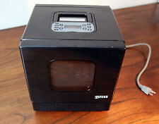 iWaveCube Compact Microwave Oven Black Mini Small Portable Travel RV Office Dorm