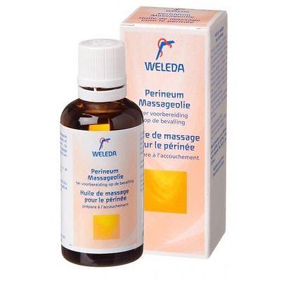 Weleda Perineum Massage Oil Pregnancy Essential Oils 50ml