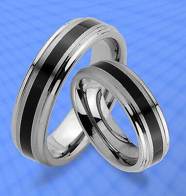 Gutherzig 2 Wolfram Tungsten Trauringe Ringe & Gravur Gratis , Jw12 Eine Hohe Bewunderung Gewinnen