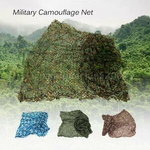 Woodland Camouflage Netting Military Camo Hunting Cover Net Backing L7D6