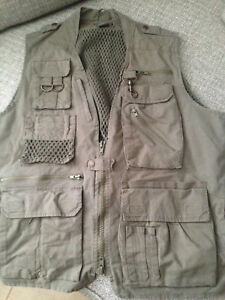 Humvee By Camp Co Safari Photo Vest Med Olive Drab Ebay