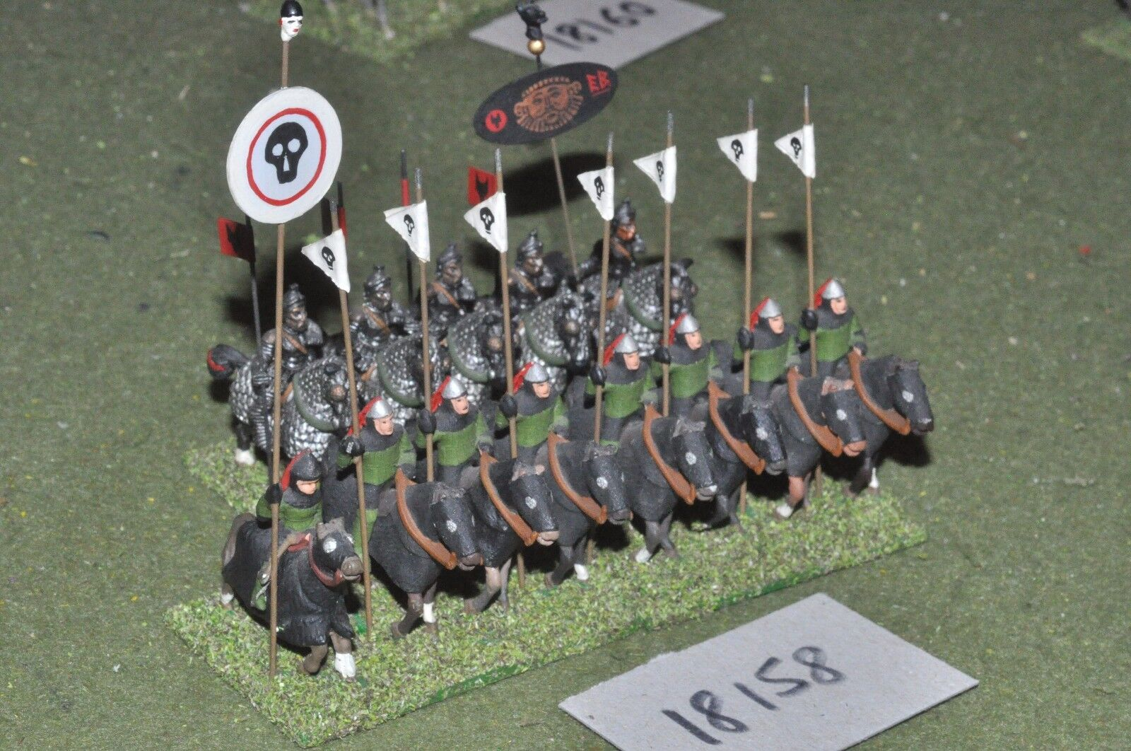 25mm classical   greek - ancient cavalry 9 figs - cav (18158)