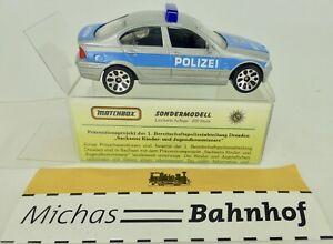 1-Bpa-Dresden-Saxe-BMW-328i-matchbox-Modele-Special-Limite-1-59-Emballage-A