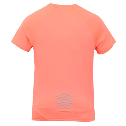 Mens Short Sleeved Gym//Training Neon T Shirts By Threadbare