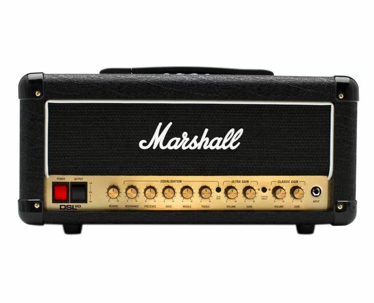 Marshall DSL20HR 20-Watt Guitar Head --. Buy it now for 419.99