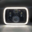 """thumbnail 5 - 1 Pair, Black LED JTX Headlights, 5x7"""", White Halo, Flashes Amber, suits Hilux"""