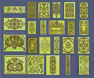 Decor-3D-panels-23-pcs-LOT-3D-Model-STL-relief-for-CNC-format-DECOR-ASPIRE-ART