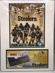 2005-Pittsburgh-Steelers-Heinz-Field-First-Day-Cover-Matted