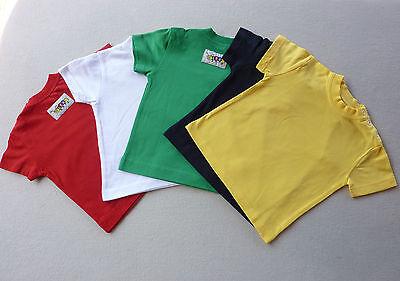Nuova Moda Baby Bambini T-shirt, Tg. 68-74, 80-86, 92-98, 100% Cotone, Label Lexi, Nuovo- Prima Qualità