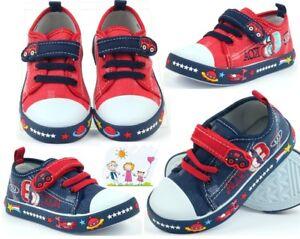 American Club Garçons Toile Chaussures baskets bébé garçon en cuir véritable Semelles Intérieures 4 UK 8-afficher le titre d`origine tsk7G76Q-07155337-749329089