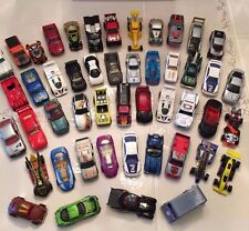 HOT WHEELS 48 CARS AND CLEAR CASE YEARS 1978-2000 CONDITION EXCELLENT TO OKAY
