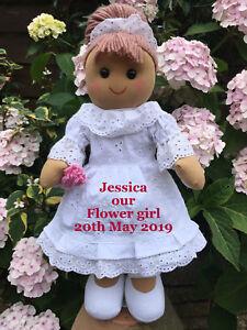 Personnalisé largeteddy Ours Fleur Fille Demoiselle D/'honneur Demoiselle D/'Honneur Cadeau Mariage