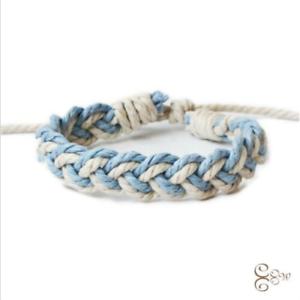 Newly Fashion Linen Bracelet Female Charm Cuff Woven Bracelet New Jewelry Gift