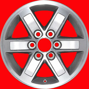 Set-2007-2009-2011-2013-GMC-Sierra-Denali-Van-Yukon-OEM-Factory-Wheels-Rims-5296