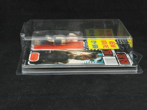New /& Vintage Style Star Wars or GI Joe Carded Figures 1 x Protech Star Case