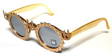 SWATCH 601 FIRE ON EYES GOLD ORO VINTAGE SUNGLASSES LIMITED EDITION RARE RARO