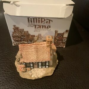 Vintage-1989-Lilliput-Lane-cinco-formas-Cottage-Casa-en-Caja