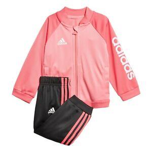 Details about Adidas Originals Infant Superstar Tracksuit Kids children Full Set BJ8458 Red