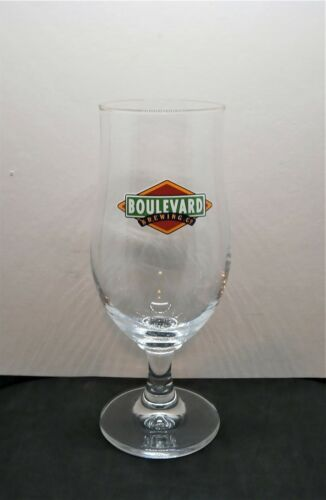 Boulevard Brewing Company 25cl Beer Glass Kansas City Missouri Brewery