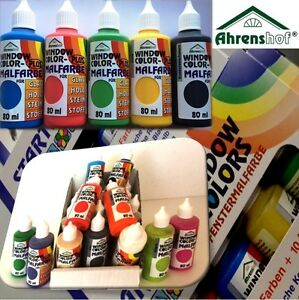 Ahrenshof ORIGINAL Window Color Farben 80ml in 28 ...