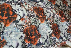 RED Premium Plain Scuba Bodycon Fabric Material Stretch