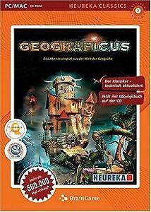 Geograficus-Classics-PC-von-Klett-Verlag-Software-Zustand-gut