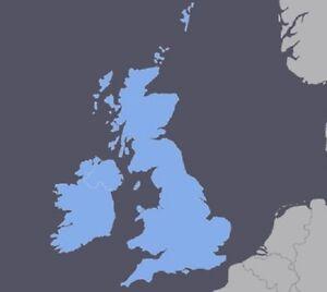 UK United Kingdom Ireland GPS Map For Garmin Devices EBay - Garmin maps for united kingdom