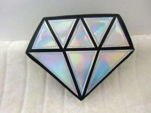a forma diamante con diamante a forma di a forma di diamante Borsa in argento originale w5PqWF