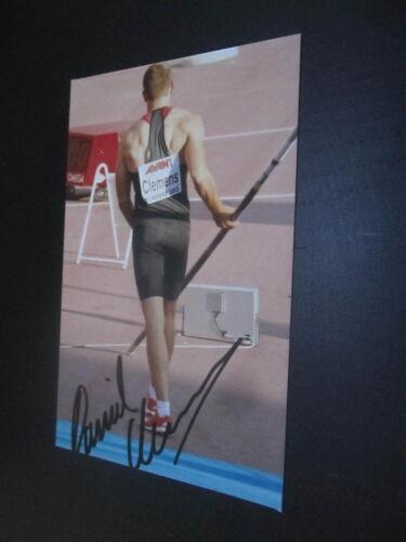 51270 Daniel Clemens Leichtathletik original signierte Autogrammkarte Foto