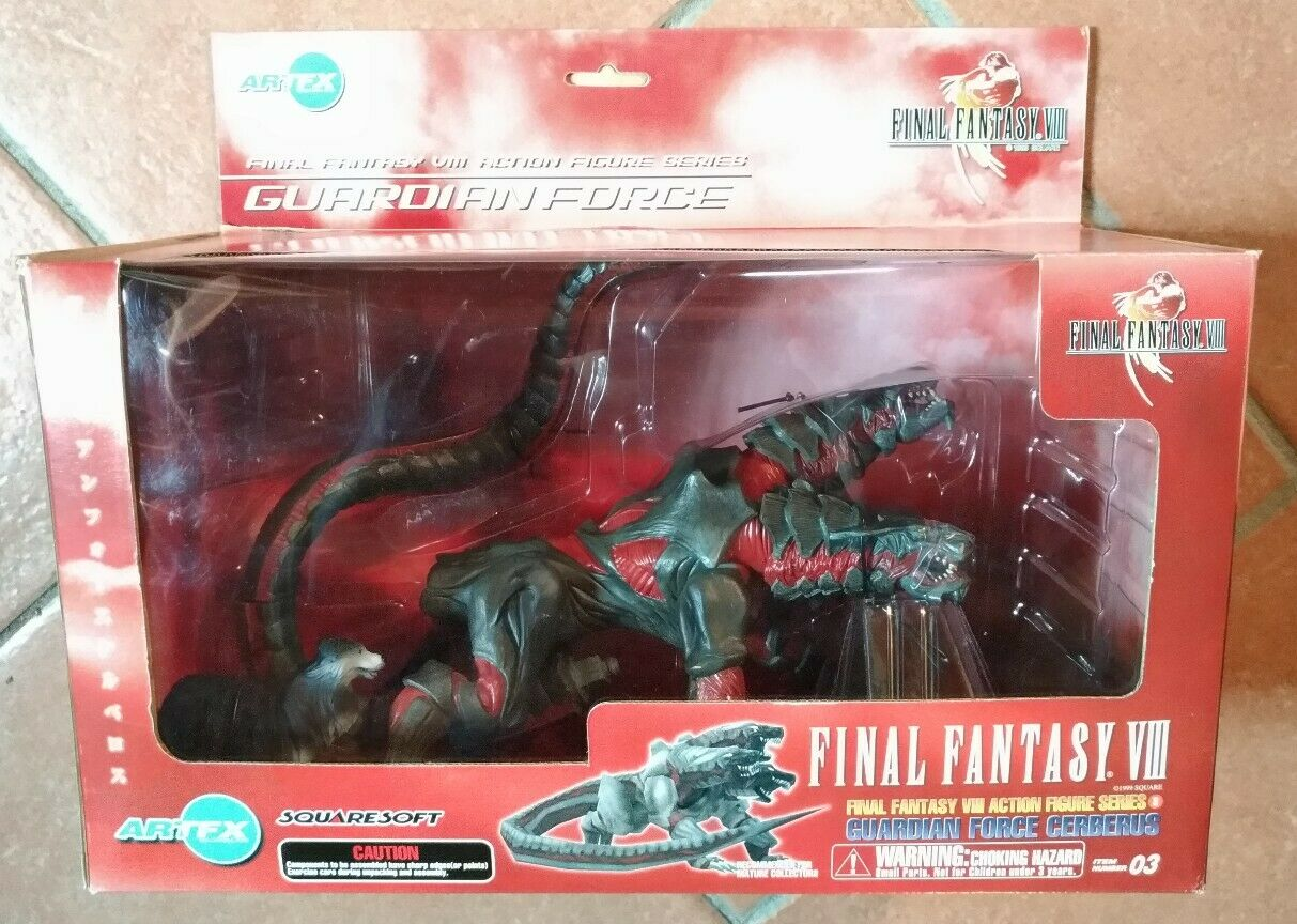 FINAL FANTASY VIII FIGURE GUARDIAN FORCE SERIE 3 CERBERUS ArtFX NEW KOTOBUKIYA