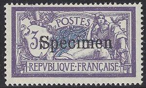 Cours-d-039-instructions-206-CI1-Merson-3fr-Violet-et-bleu-Surcharge-D-Neuf-Signe