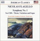 Nicolas Flagello: Symphony No. 1; Sea Cliffs; Theme, Variations and Fugue (CD, Jul-2003, Naxos (Distributor))