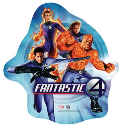 "Fantastic Four 4 Marvel Superhero Party Decoration Foil 35/"" Shaped Mylar Balloon"