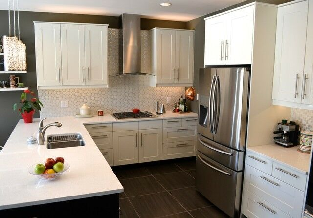 Black Kitchen Cabinet Door