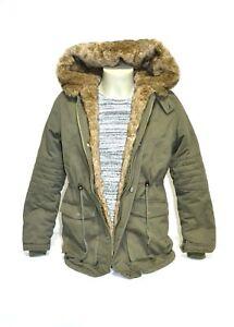 ENOS-Parka-Winter-Jacke-Pelz-Must-Have-oliv-Finest-Label