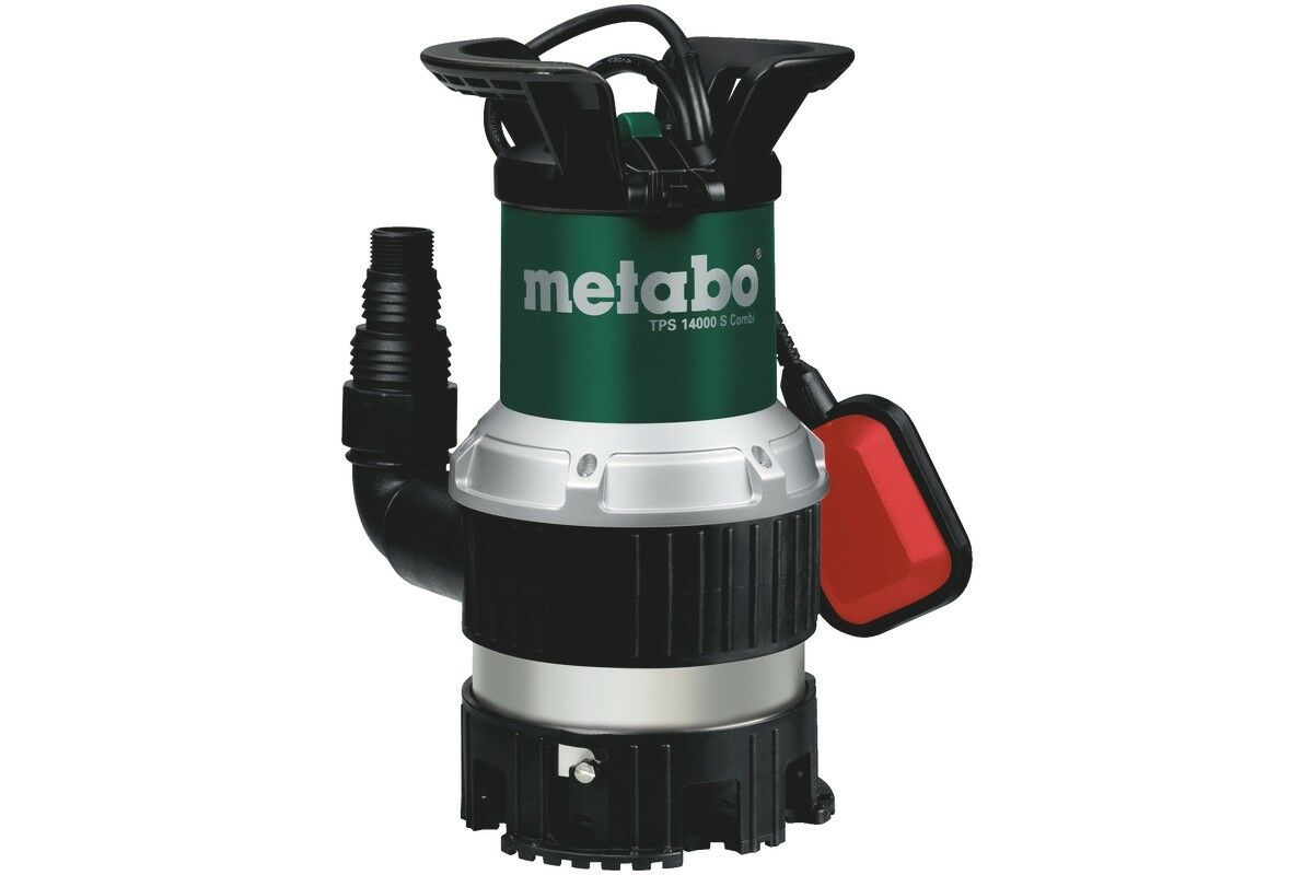 Metabo TPS 14000 S Combi 0251400000 Station Wagon-Pompa sommersa 770 Watt 14000 LITRI