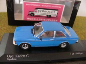 1-43-Minichamps-Opel-Kadett-C-1978-signalblau-400-048101
